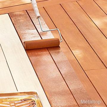 peinture sol bois