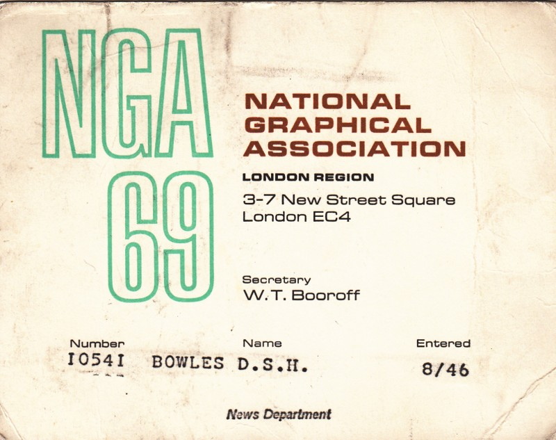 National graphical Association 1969