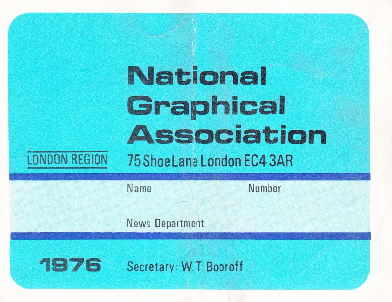 National Graphical Association 1976
