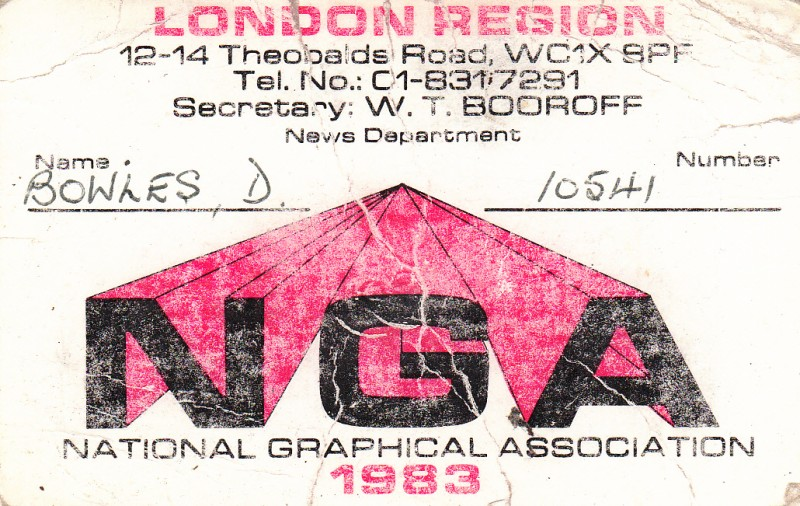 National Graphical Association 1983