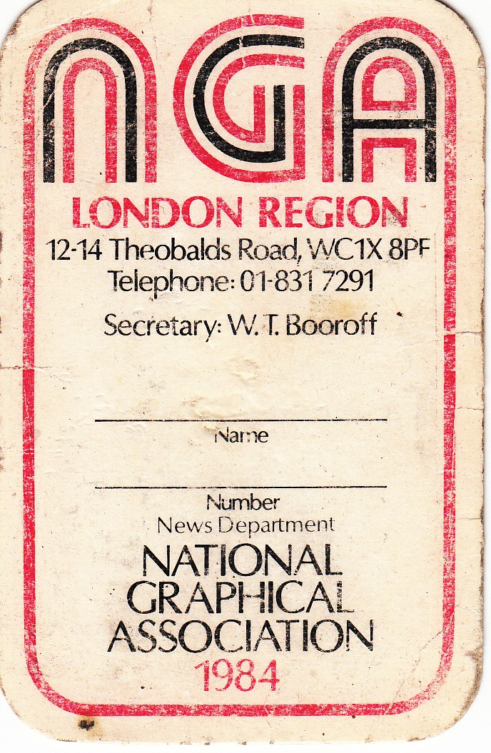 National Graphical Association 1984