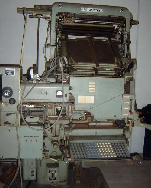 THIS MACHINE was not listed in the museum's catalogue.