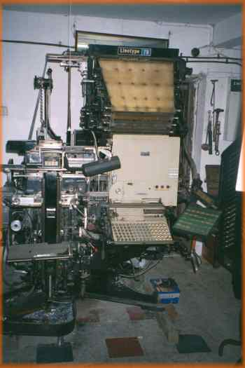 Linotype Model 78