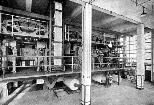 Goss rotary press, c1949