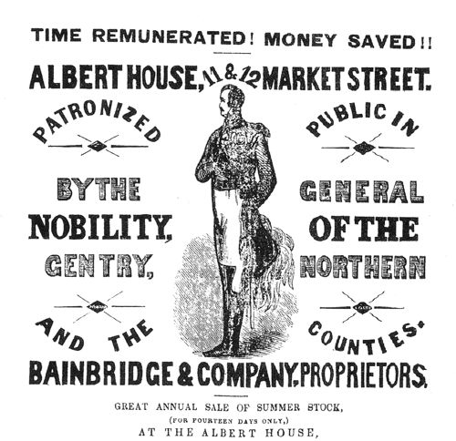 An early advertisement