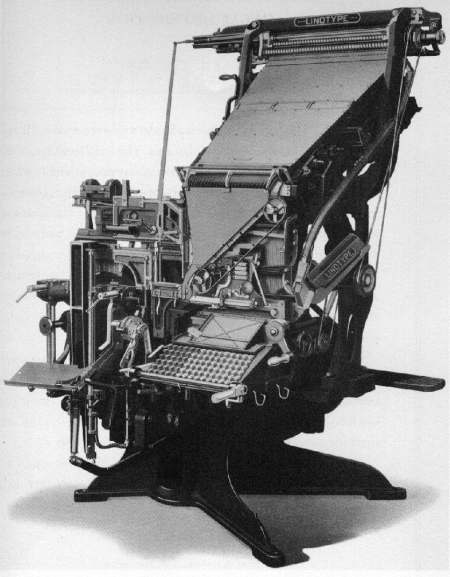Linotype Model 8