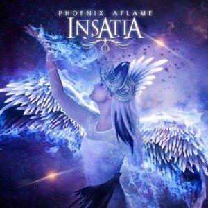 Insatia - Phoenix Aflame album artwork, Insatia - Phoenix Aflame album cover, Insatia - Phoenix Aflame cover artwork, Insatia - Phoenix Aflame cd cover