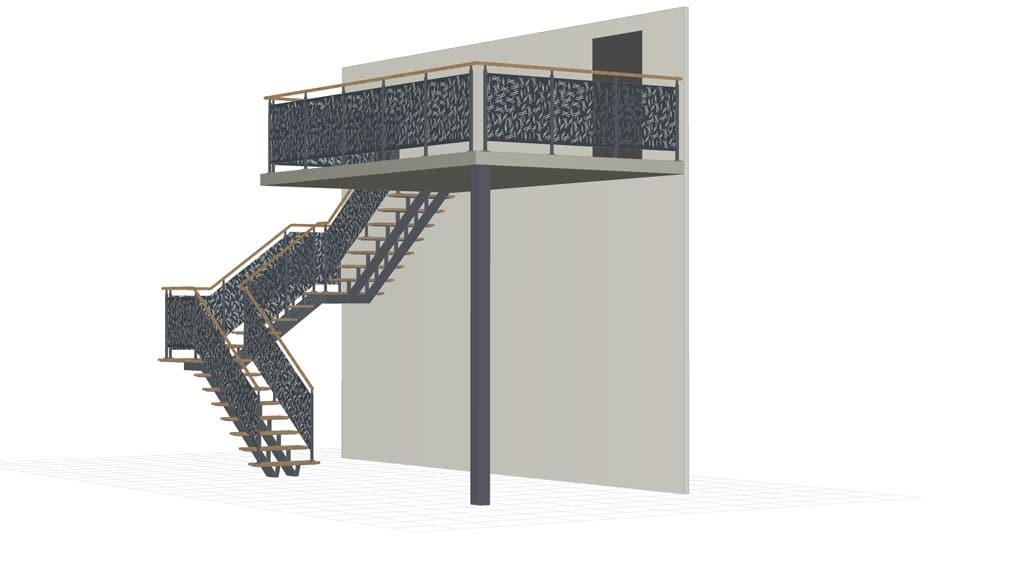 Logiciel Professionnel De Conception D Escaliers 3d Metalcad