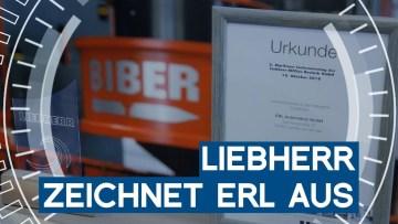 Ausgezeichnet: ERL gewinnt Lieferantenpreis von Liebherr   METAL WORKS-TV