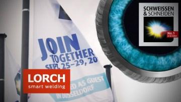 LORCH auf der SCHWEISSEN & SCHNEIDEN 2017