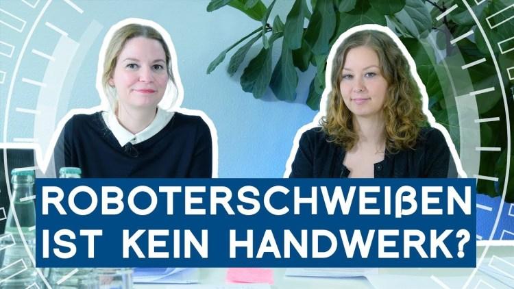 Querformat: Roboterschweißen hat nichts mit Handwerk zu tun?   METAL WORKS-TV