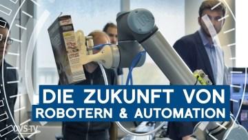 Robott-Net-Projekt beim Open Lab des Fraunhofer Institut in Stuttgart | METAL WORKS-TV