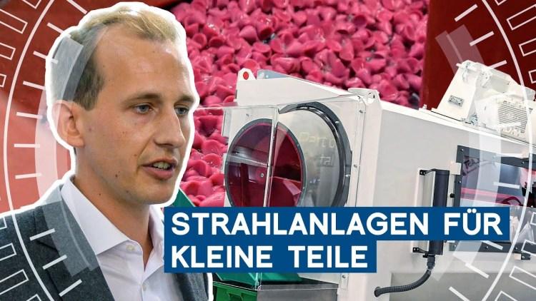 Strahlanlagen für die Kleinteilindustrie | Walther Trowal | METAL WORKS-TV