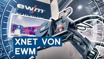 Xnet von EWM an der Titan XQ | Intec 2019 Leipzig | METAL WORKS-TV