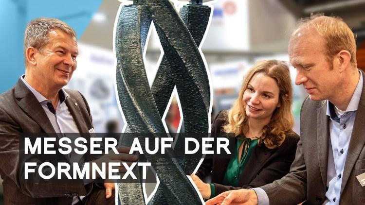 Messer: Gase für die Additive Fertigung | Formnext 2019 | METAL WORKS TV