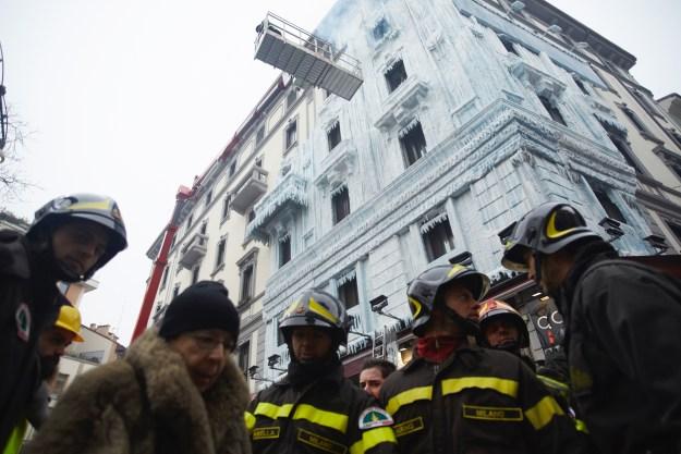 Palacete Congelado en Milán by e-on