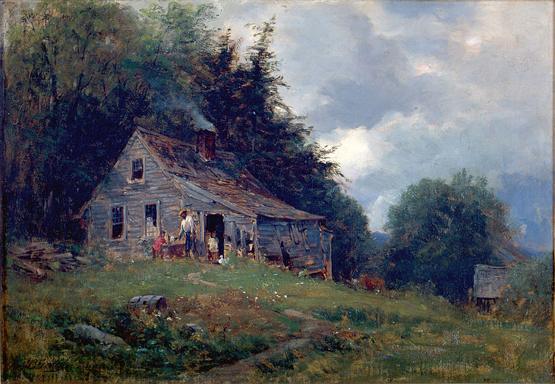"Samuel Lancaster Gerry, ""Appalachian Mountain Sharecroppers,"" 1870s"