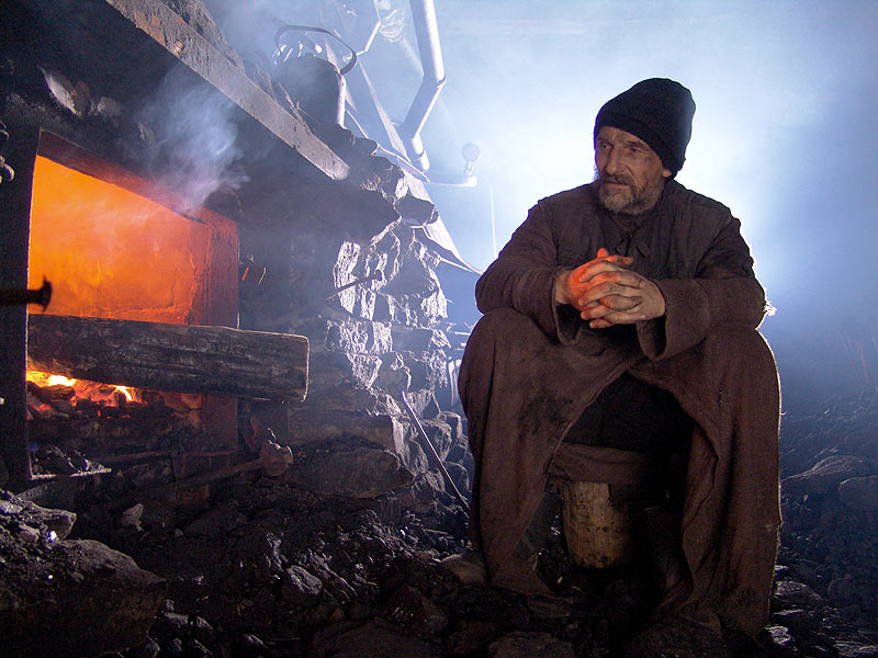 Still from Pavel Lungin's Ostrov (The Island)