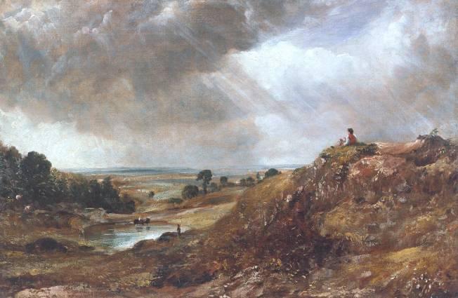 Branch Hill Pond, Hampstead Heath by John Constable, Tate Britain, London