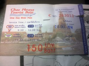 DAILY TICKET FOR A TOURIST BOAT