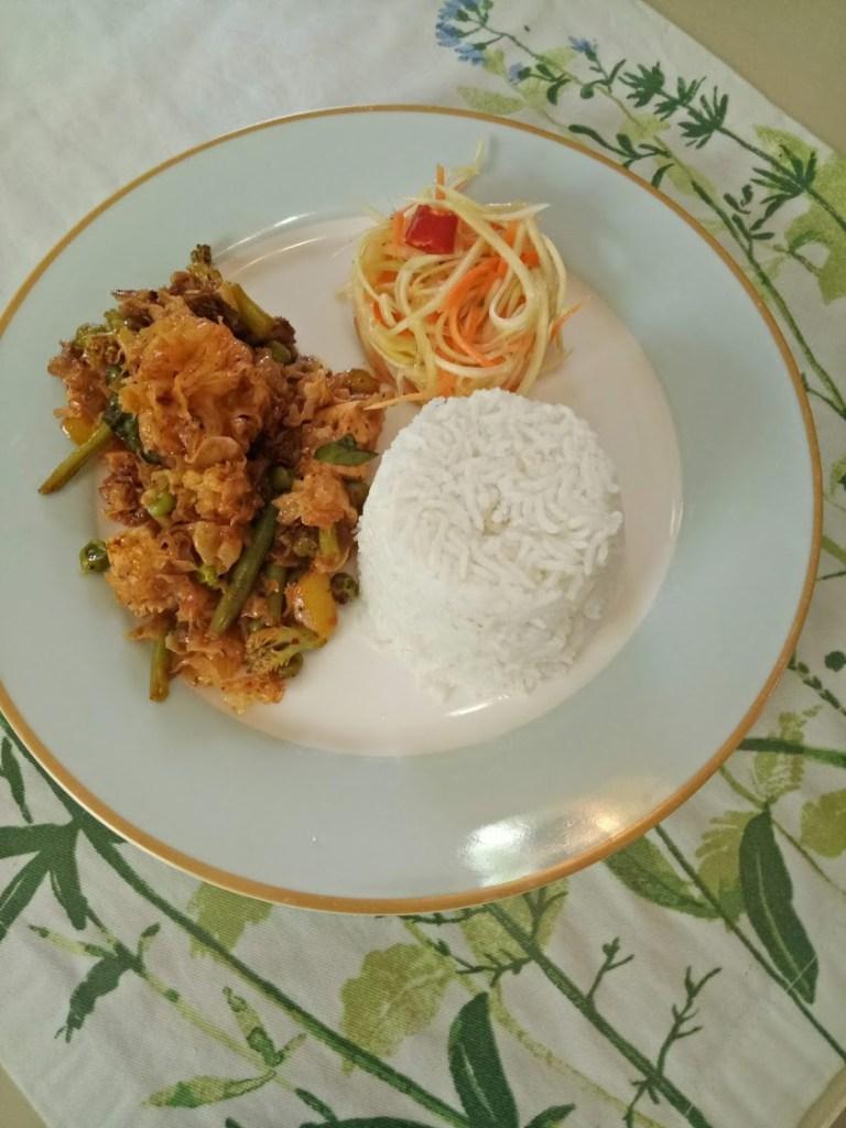 צמחוני תאילנדי