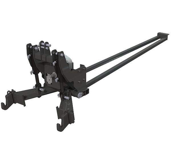 Straight Frame Tractor Harness