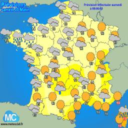 prévisions météo