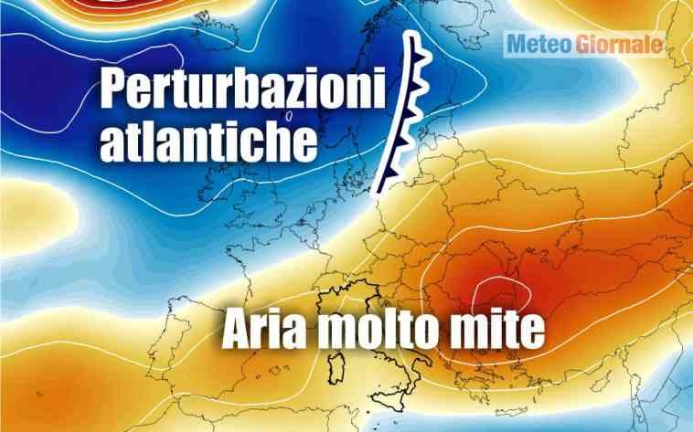 Stop FREDDO, avanti ANTICICLONE. Meteo in Italia da OTTOBRATA