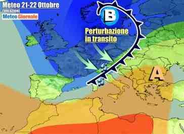 METEO 7 Giorni. PEGGIORA a partire dal Nord, anticiclone verrà spazzato via