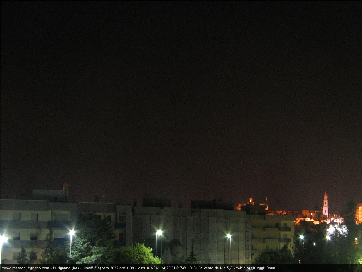 Webcam Putignano, vista a Nord - Europe, Italy, Putignano
