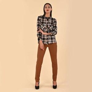 Pantalone elasticizzato skinny