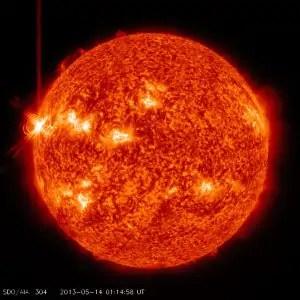 Immagine d'archivio. Credit: SDO - NASA