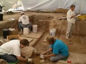 scavo archeologico archeologia