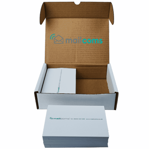 1000 FP Mailing Postbase Mini Double Sheet Franking Labels
