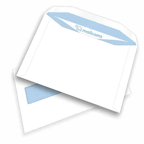 500 White C5+ Gummed Windowed (45mm x 90mm) Envelopes (162mm x 235mm)