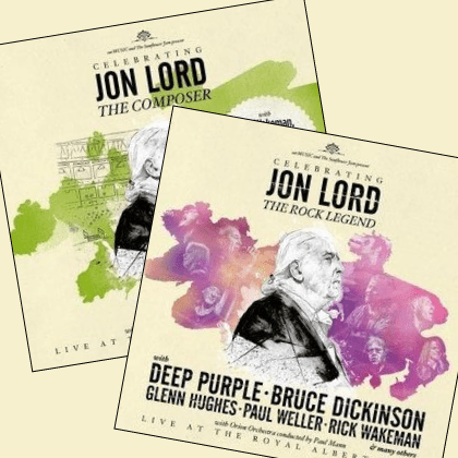 Celebrating Jon Lord covers