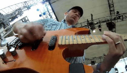 Jake Cinninger Guitar Cam video still