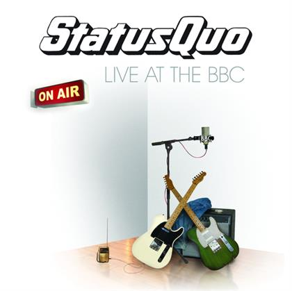 Status Quo - Live At The BBC cover