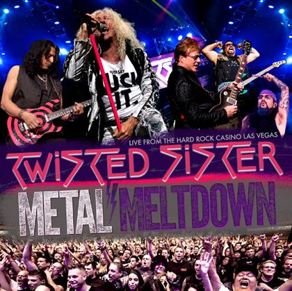 Twisted Sister - Metal Meltdown cover