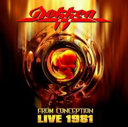 Dokken - FromConception-Live cover