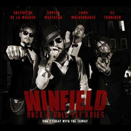 Winfield - Rock 'n' Roll Ist Krieg cover