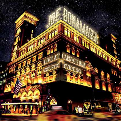 Joe Bonamassa - Live At Carnegie Hall: An Acoustic Evening cover