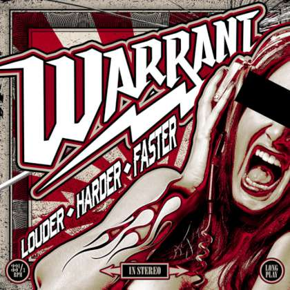 Warrant - Louder Harder Faster cover