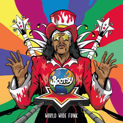 Bootsy Collins - World Wide Funk cover