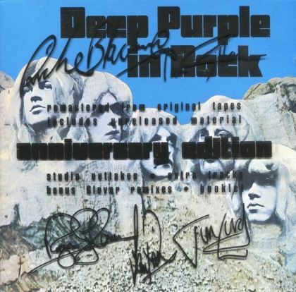 Deep Purple - In Rock cover