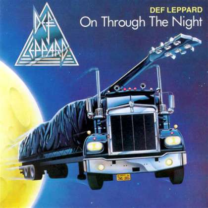 Def Leppard - On Through The Night cover