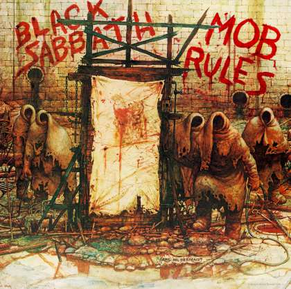 Black Sabbath - Mob Rules cover