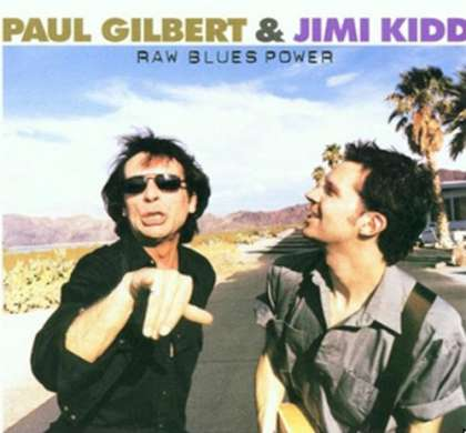 Paul Gilbert & Jimi Kidd - Raw Blues Power cover