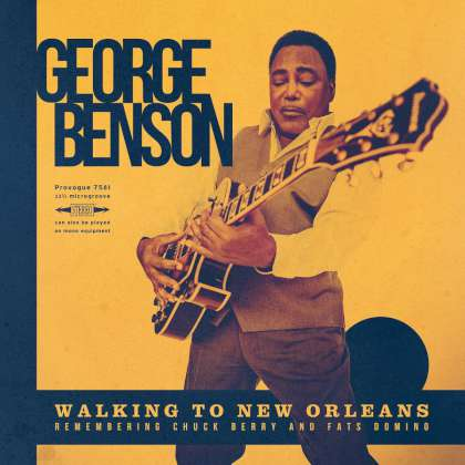 George Benson - Walking To New Orleans cover
