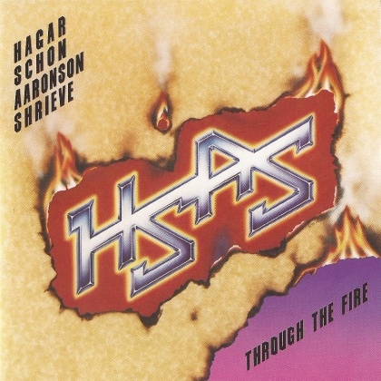 HSAS-Through The Fire cover